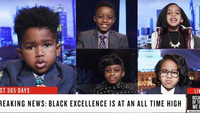 Kids Report On Black Excellence